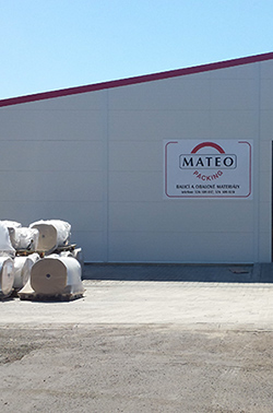 Nová hala MATEO Packing s.r.o.